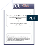Forecasting Agricultural Commodity Prices Using Machine Learning
