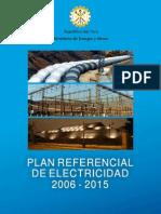 Plan Referencial de Electricidad 2006-2015