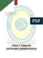 ÉTICA Y TOMA DE DECISIONES EMPRESARIALES (1)