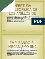 Apertura Nucleofilica de Los Anillos de Oxirano