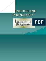 Phoneticis and Phonology