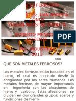 Metales Ferrosos Hoy