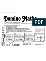 Domino Maths