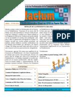 Boletín Contactum Abril-Junio 2012