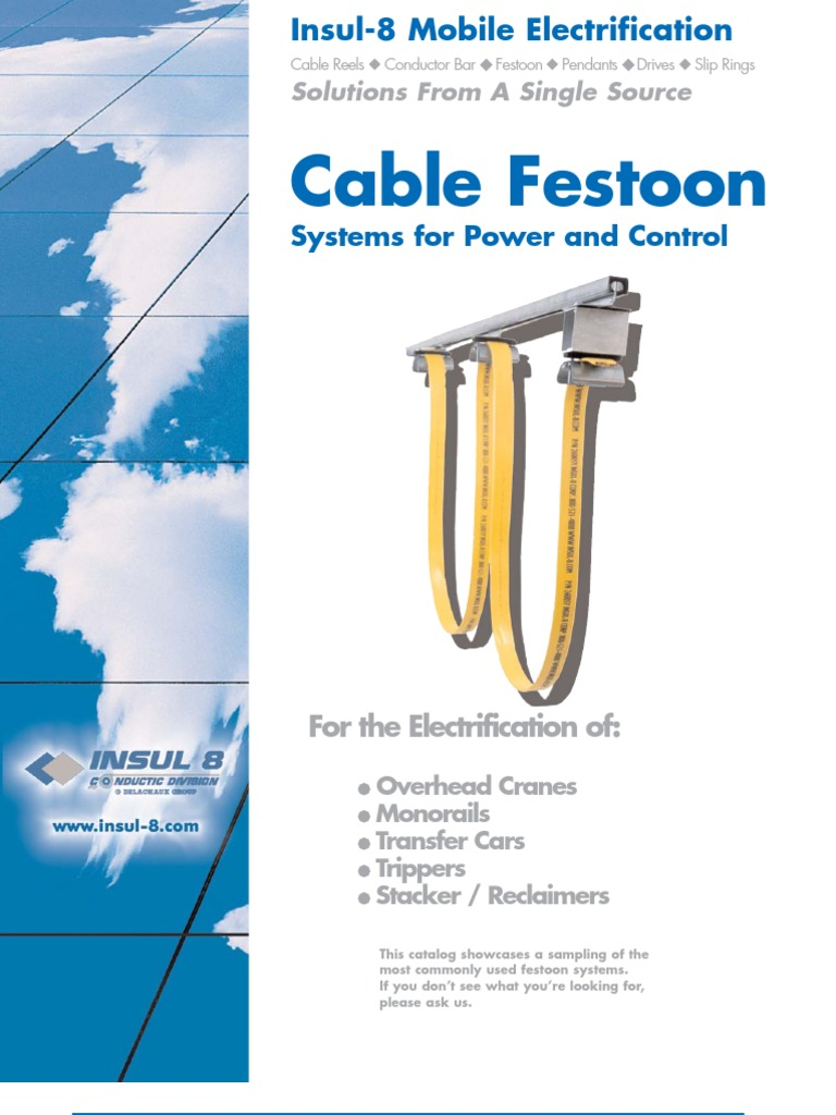 Catalog Cable Festoon   Cable   Structural Steel