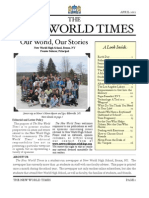 The New World Times- Vol 1, Issue 2