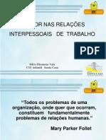 O AMOR NAS RELAÇÕES INTERPESSOAIS DE TRABALHO