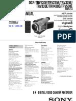 Sony Dcr-trv230 Trv235 Trv325 Trv330 Trv430 Trv530 Level 1 Ver1.1