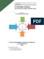 Statistika Sosial, Teori dan Terapan. (Penulis