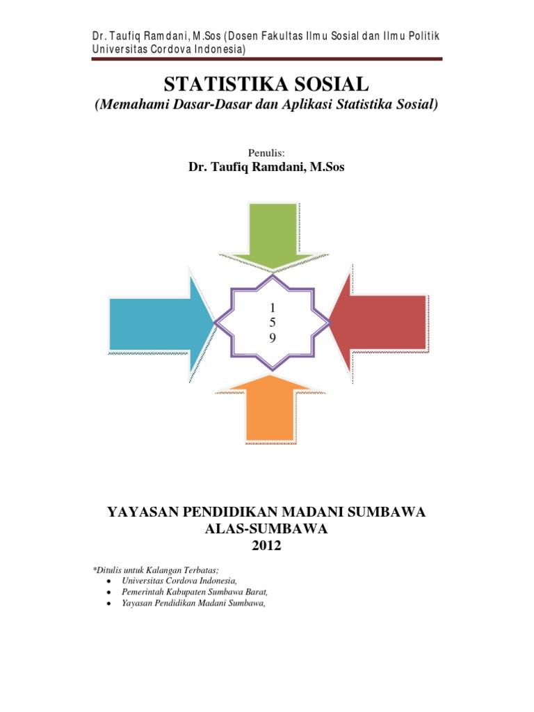 Statistika sosial teori dan terapan penulis dr taufiq ramdani statistika sosial teori dan terapan penulis dr taufiq ramdani ms ccuart Gallery