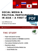 Social Media and Politics in Asia