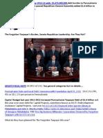 LibertyIndex2012 Republican Leadership Indreases Debt Again SENATE BILL 1480 of 2012 Capital Budget Debt $1,675,000,000
