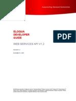 EloquaWebServicesAPI1.2DeveloperGuide