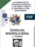 LA FORMACIÓN DE CRITERIOS VALORALES EN LOS NIÑOS -