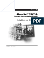 Honeywell 7847I-L Install Guide