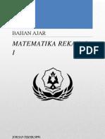 Bahan Ajar Matematika Rekayasa i33