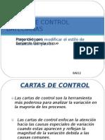 Cartas de Control Bayecianas