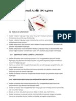 14001 - Audit Checklist