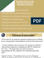 ESTRATEGIAS OPERATIVAS
