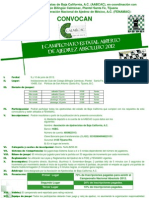 Convocatoria Estatal Abierto Absoluto 2012 Ajedrez