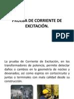 PRUEBA DE CORRIENTE DE EXCITACIÓN