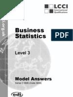 Business Statistics/Series-2-2005(Code3009)