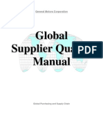 GM1927 Global Supplier Quality Manual