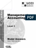 Management Accounting/Series-2-2005(Code3023)
