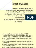Contract Law Cases 2