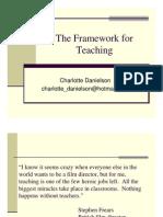 Danielson Framework Intro