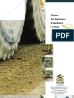 CBR PLUS Soil Stabilizer and Dust Control English Catalogue