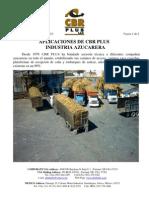 CBR PLUS Aplicacion en La Industria Azucarera 10 Feb 2010