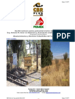 CBR PLUS Construye Camino Perimetral de PEMEX Refineria Ing Antonio M Amor en Salamanca Guanajuato