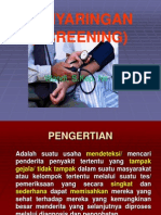 Screening (Penapisan)