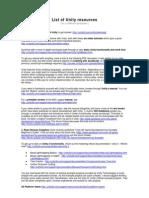 List of Unity Resources   Java Script   Scripting Language