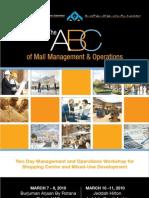 Brochure ABCofMallManagement
