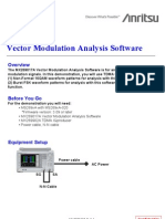 MX269017A Vector Modulation Analysis Software