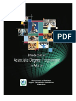 Associate Degree Booklet in Pakistan