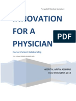 Innovasion for a Physician
