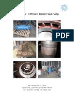 Boiler Feed Pump Repair Flowserve