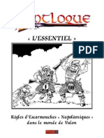 Flintloque in French, Les règles