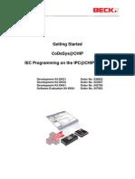 Startup SDK CoDeSysatCHIP V214