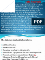 HRM Job Analysis