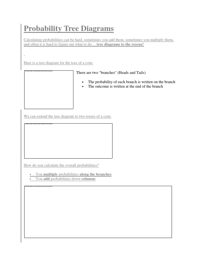 Worksheet probability tree diagram worksheet carlos lomas worksheet probability tree diagram worksheet probability tree diagrams applied mathematics ccuart Image collections