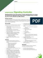 ProdSheet Diameter Signaling Controller V1.0