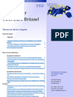 Bruxelles, Alpeuregio, newsletter Tirol