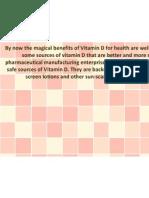 76762413 Vitamin D From Solarium