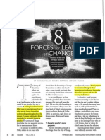 fullan et al 8 forces for change
