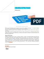 Critical to Quality (CTQ) Trees