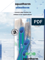 Aquatherm_Climatherm Pipework 36 Pages